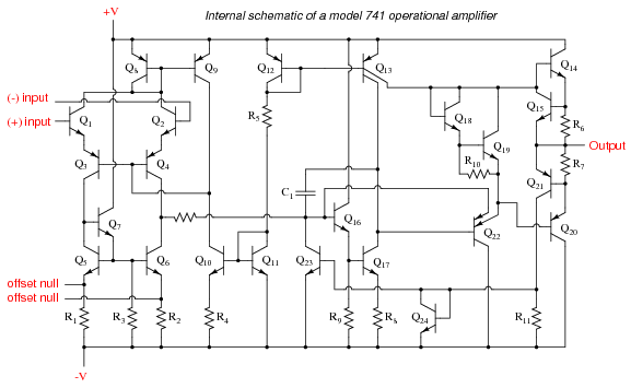 741 Opamp Tutorial 741 Circuits 741 Schematics With Examples