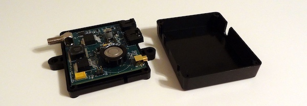 3D printing injection molded enclosure.
