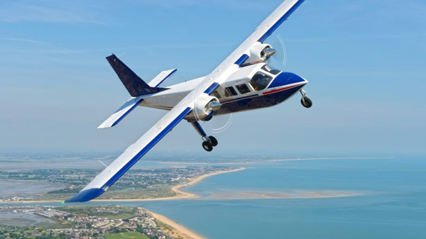 The Britten-Norman, a prime candidate for airplane hybridisation in the UK.