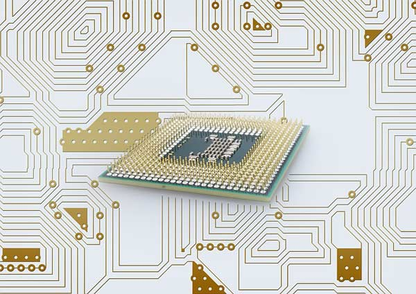 Advances in integrated circuit packaging impact a wide range of components and products, including processor boards, such as the one pictured above.
