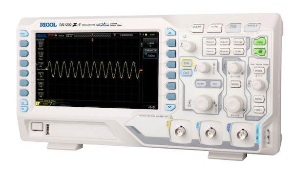 DS1202Z-E oscilloscope.
