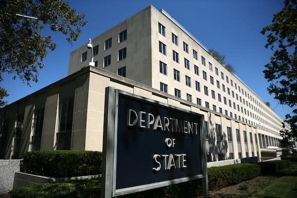 U.S. State Department in Washington D.C.