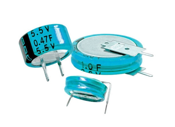 EDC/EDS coin cell capacitors from Cornell Dubilier.