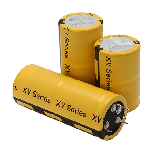 Eaton's XV large-cell supercapacitor.
