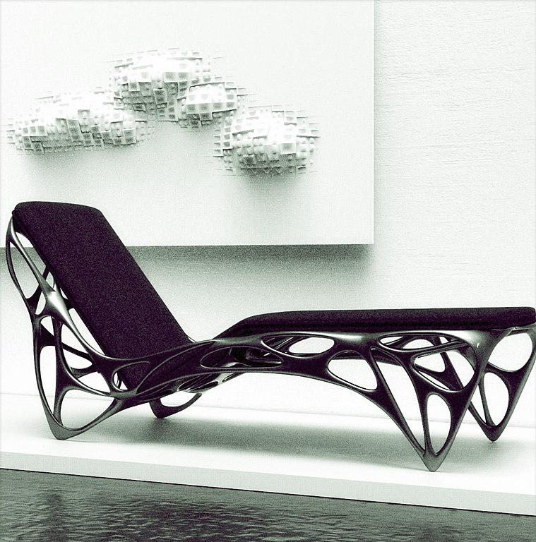 A generative design of a lounge chair.