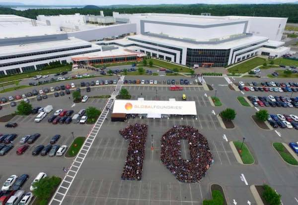 GlobalFoundries fabrication plant.