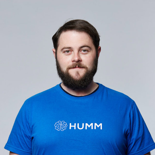 Iain McIntyre, HUMM Co-founder and CEO.