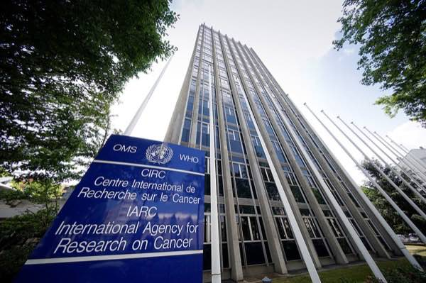 The International Agency for Research on Cancer building