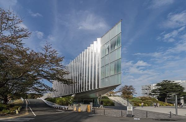 The Tokyo Institute of Technology library.