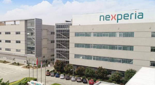 Nexperia fabrication building in Guangdong, China.