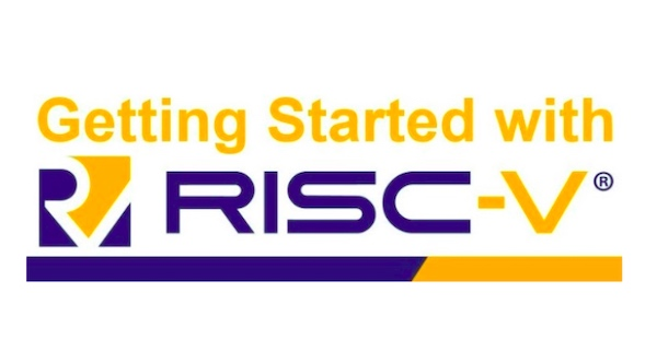 Getting Started with RISC-V event logo.