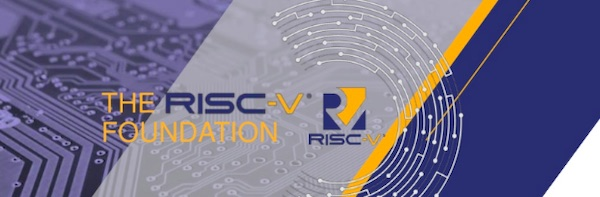 RISC-V foundation presentation slide.
