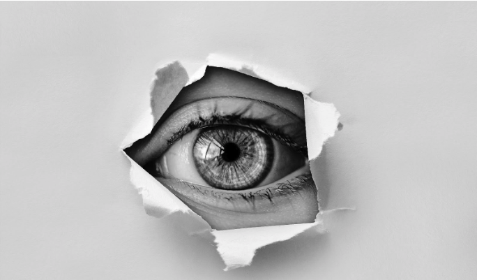 Spying eye. Image courtesy of Pixabay.