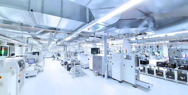 Swissbit production facility floor.