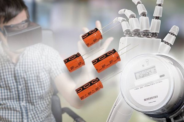 A virtual reality headset and medtech robotic hand.