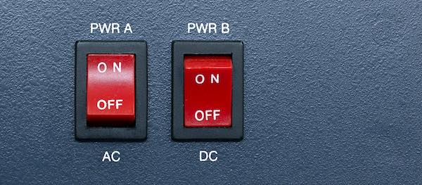 Alternating direct current switches.
