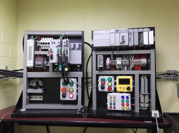 A control board for power automation.