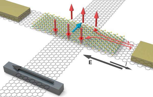 Graphical depiction of graphene-based heterostructures.