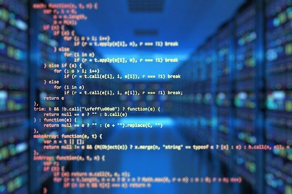 Concept image of source code.